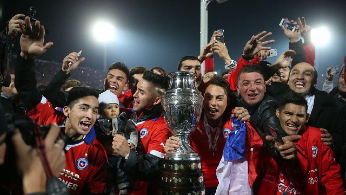 Chile, campeón de América, no será cabeza de serie de la Copa Centenario