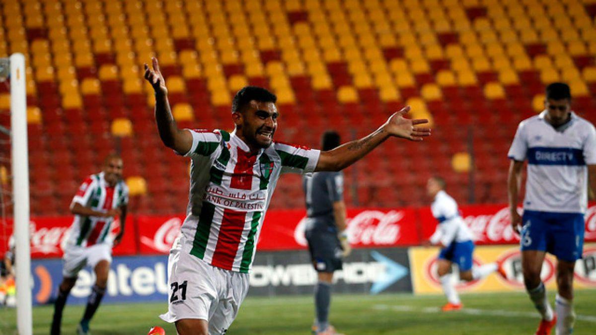 Con un golazo Palestino vence a la UC y da el primer golpe en la final de la Liguilla