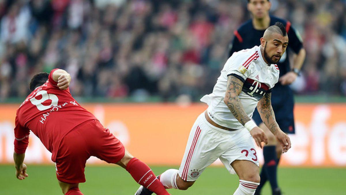 """Vidal celebra triunfo del Bayern: """"Quinto año consecutivo que salgo campeón de invierno en Europa"""