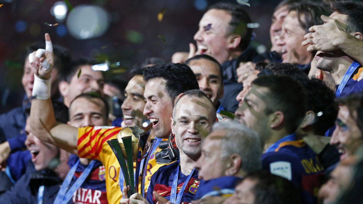 Inédito: Barcelona tricampeón del Mundial de Clubes