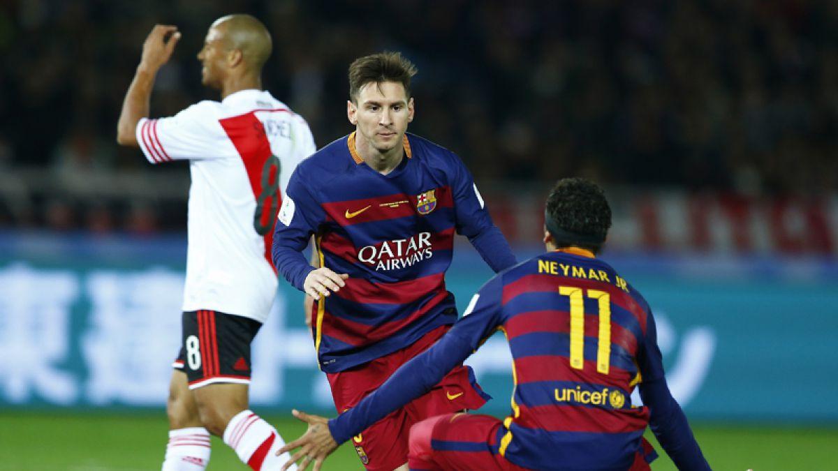 Lionel Messi campeón ante el club que lo rechazó