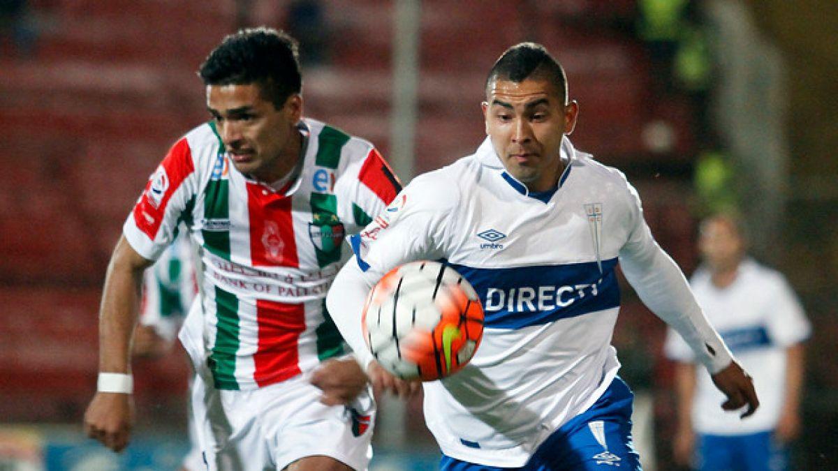 Universidad Católica y Palestino definen los pasajes a la Copa Sudamericana 2016