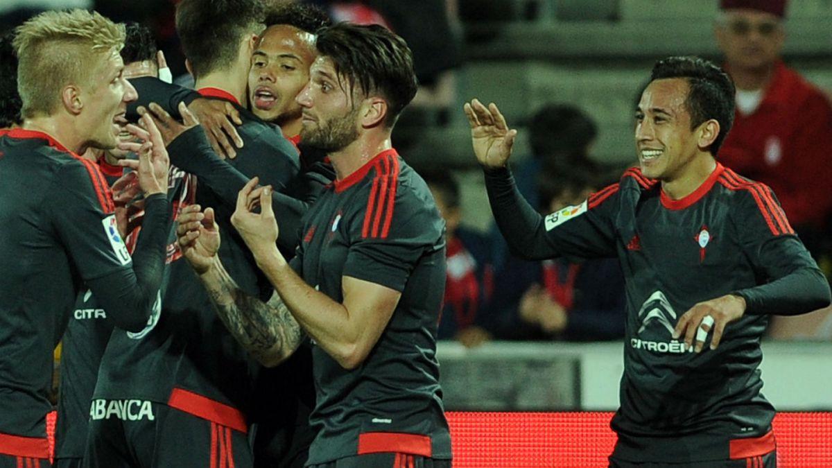 Quinto gol de la temporada: Celta vence a Granada con anotación de Fabían Orellana