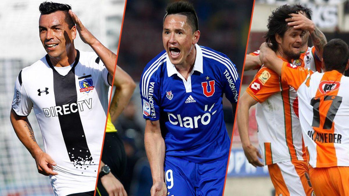 Técnicos y figuras de los rivales de la U, Colo Colo y Cobresal en Copa Libertadores