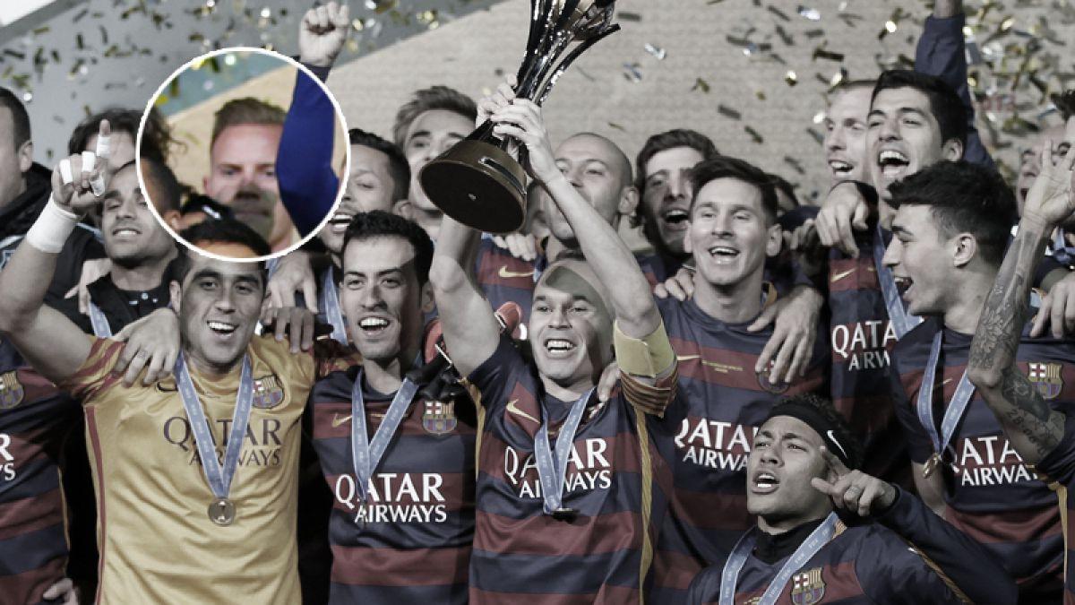 Plantel del Barcelona enfadado por la actitud de Ter Stegen