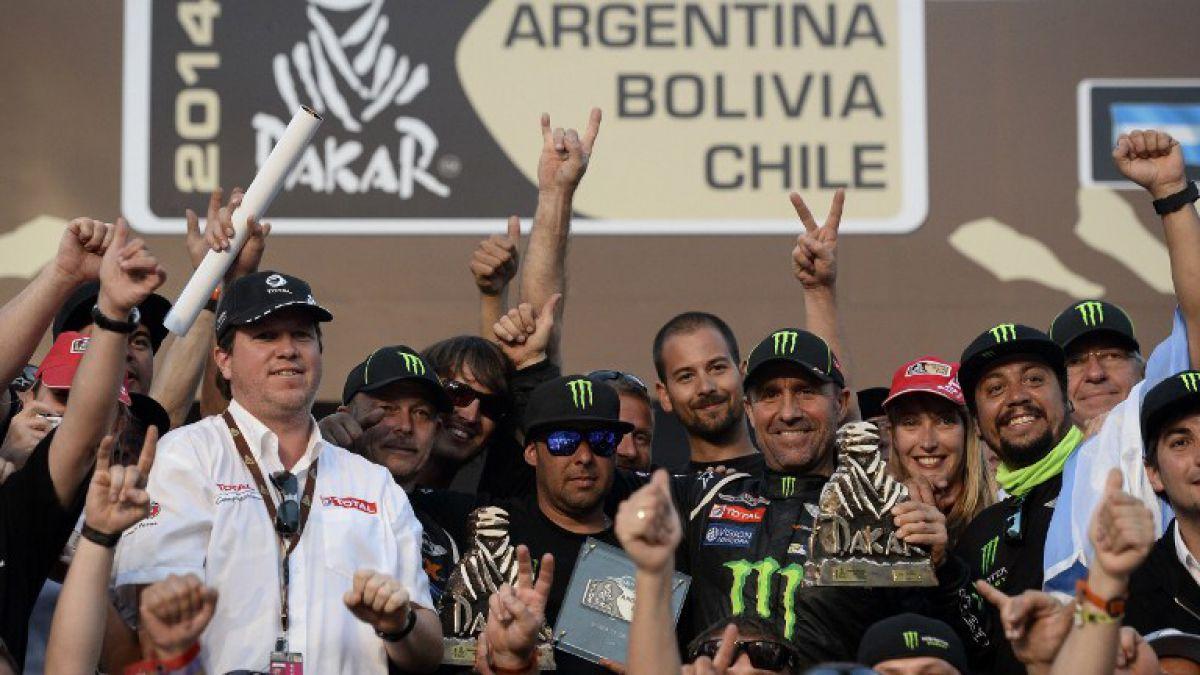 ¿Quiénes son los más exitosos pilotos en la historia del Dakar?