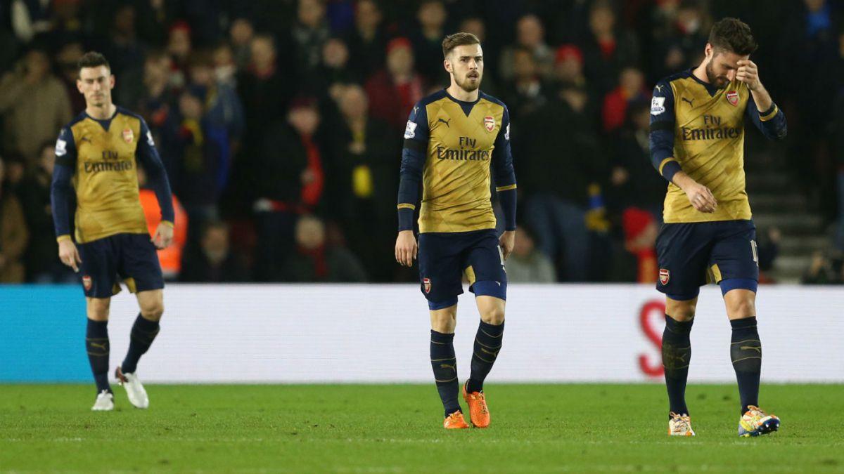 Goleados: Arsenal sin Alexis cae ante Southampton y pierde chance de llegar a cima de la Premier