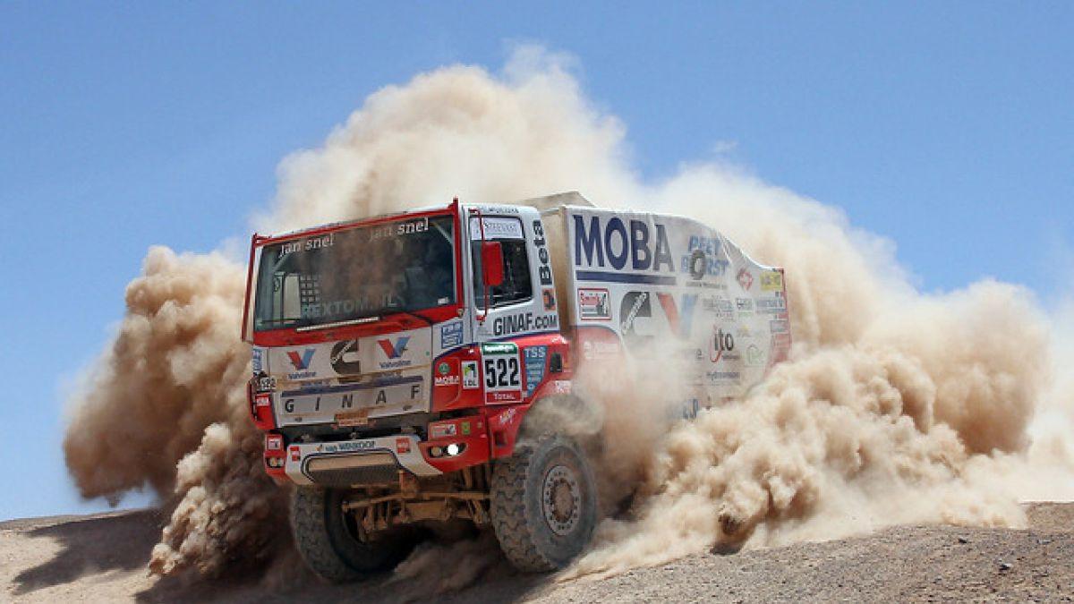 Todos los pilotos de la categoría camiones del Rally Dakar 2016