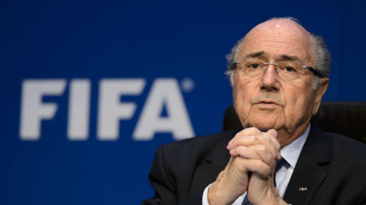 Joseph Blatter: Felicito desde el fondo de mi corazón a Infantino