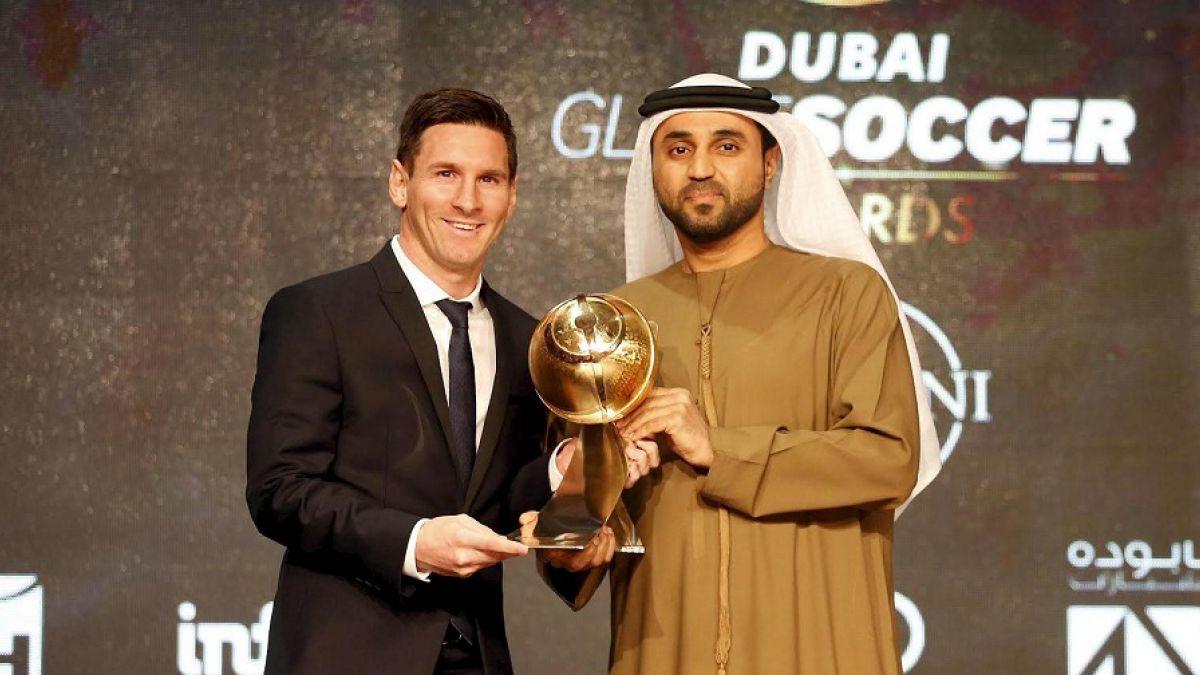 """Barcelona de Claudio Bravo arrasa con los premios de los """"Globe Soccer Awards"""""""
