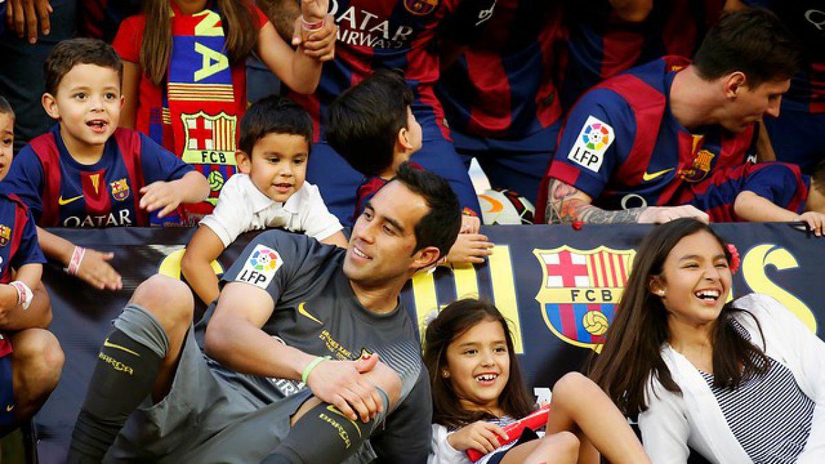 """Claudio Bravo """"imprescindible"""" para el Barcelona y es sometido a particular entrevista"""