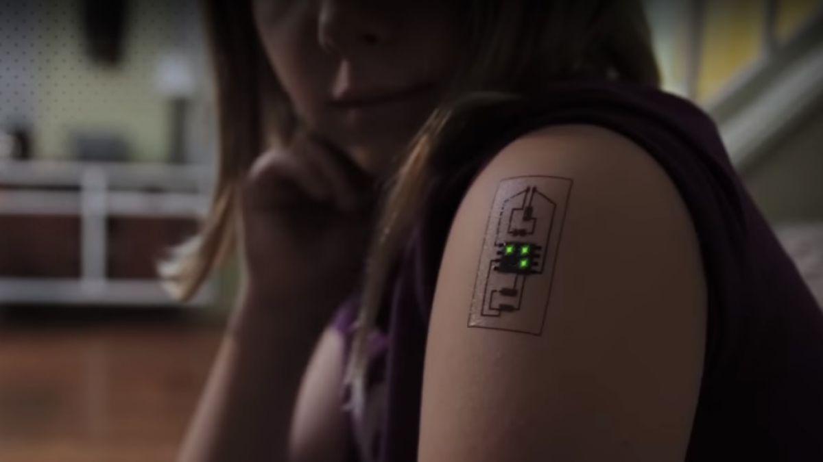 Circuito Significado : Tatuajes tecnológicos: un circuito sobre la piel tele 13