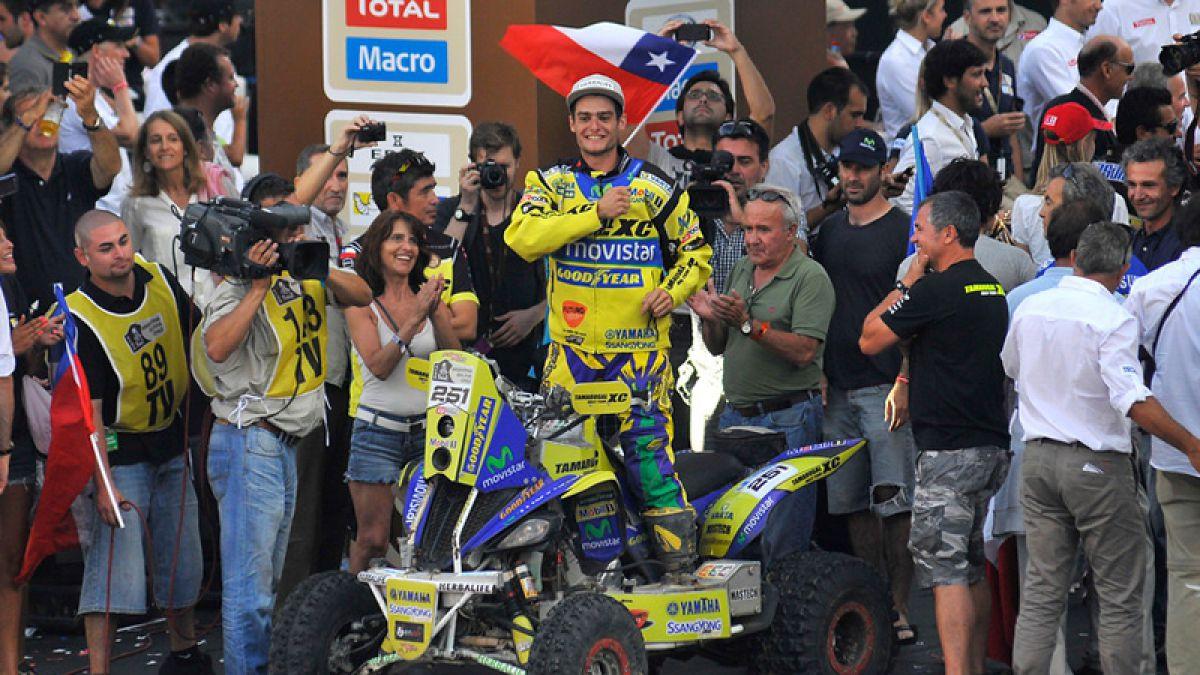 Ignacio Casale: El único chileno campeón en el Rally Dakar