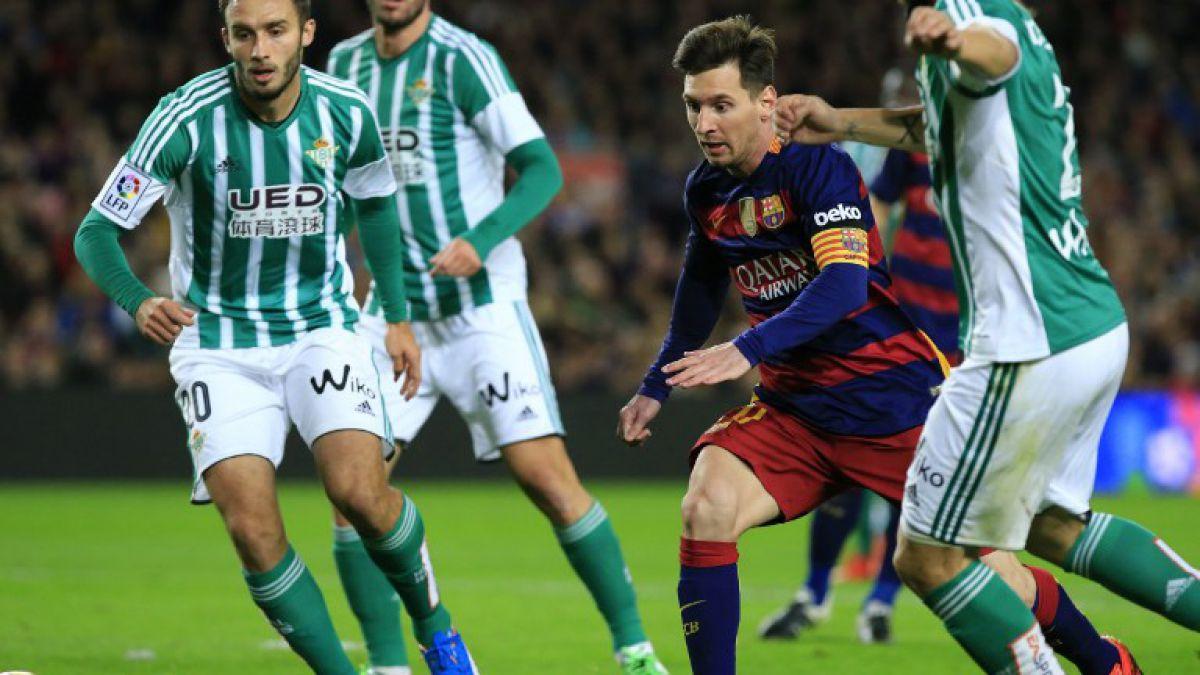 Con Bravo en el arco: Barcelona golea y vuelve a ser líder en la Liga Española