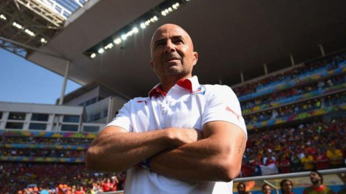 Jorge Sampaoli es elegido y premiado como el mejor técnico de América 2015