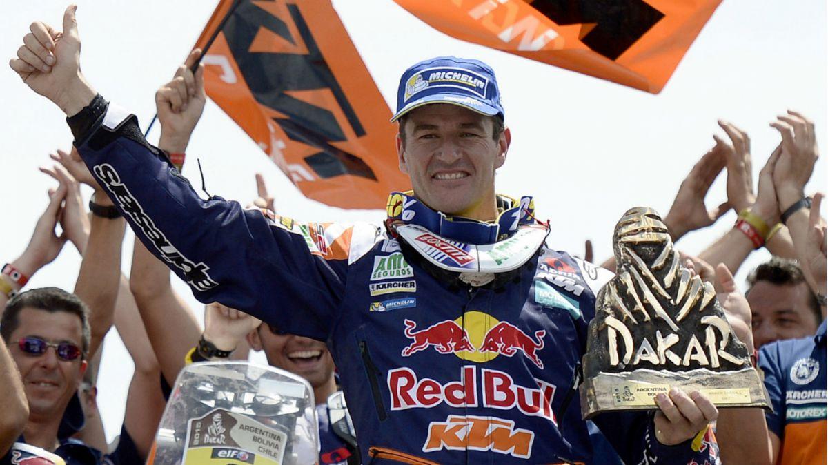 Estos son los últimos diez ganadores en auto y moto del Rally Dakar
