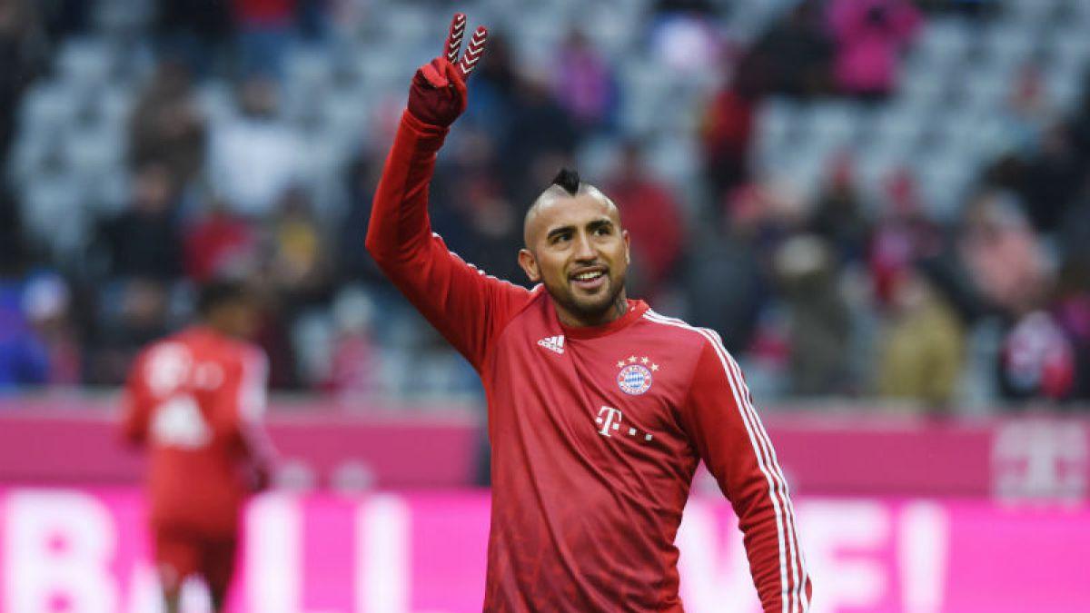 Compañeros de Vidal en el Bayern le dan su apoyo ante polémica con diario alemán