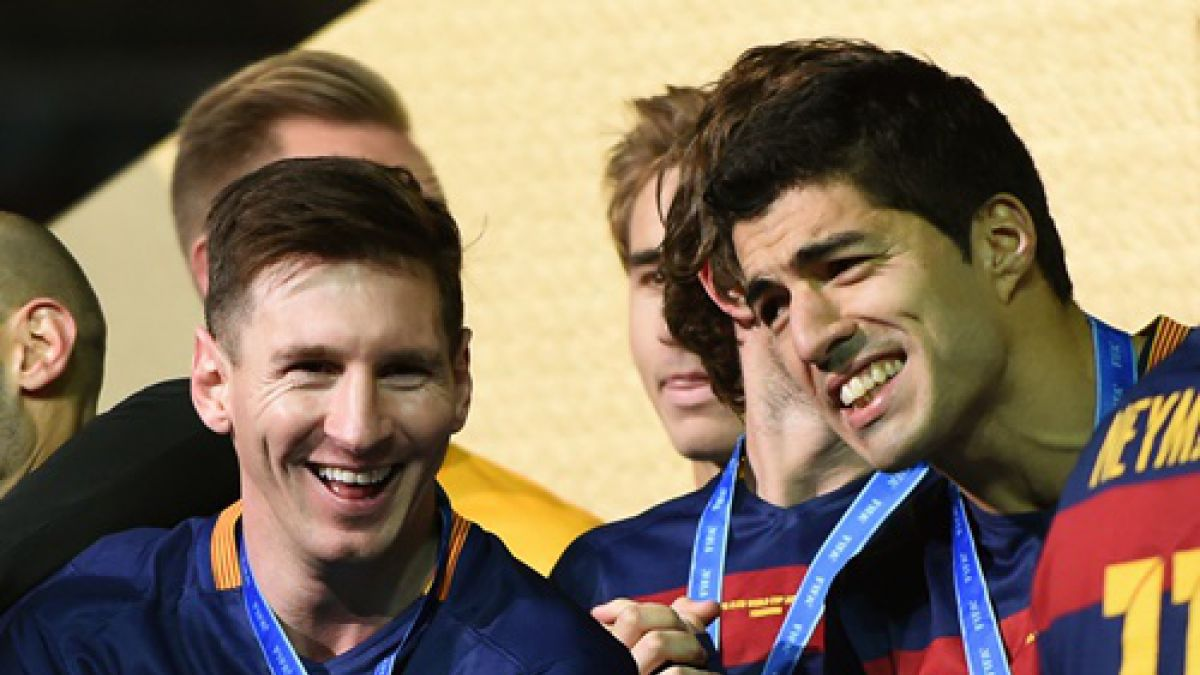 [VIDEO] El caño de Messi a Luis Suarez que ha dado la vuelta al mundo