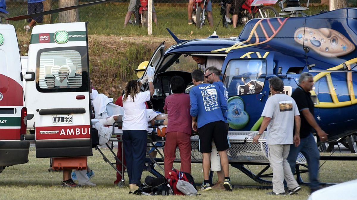 Dos heridos por accidente en Rally Dakar continúan en estado crítico