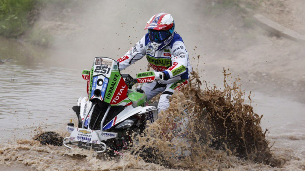 Categoría quads: Ignacio Casale gana la segunda etapa en una jornada brillante
