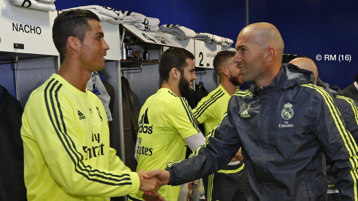 """Zidane y su primer día al mando del Madrid: """"Es un reto complicado pero que me anima mucho"""""""