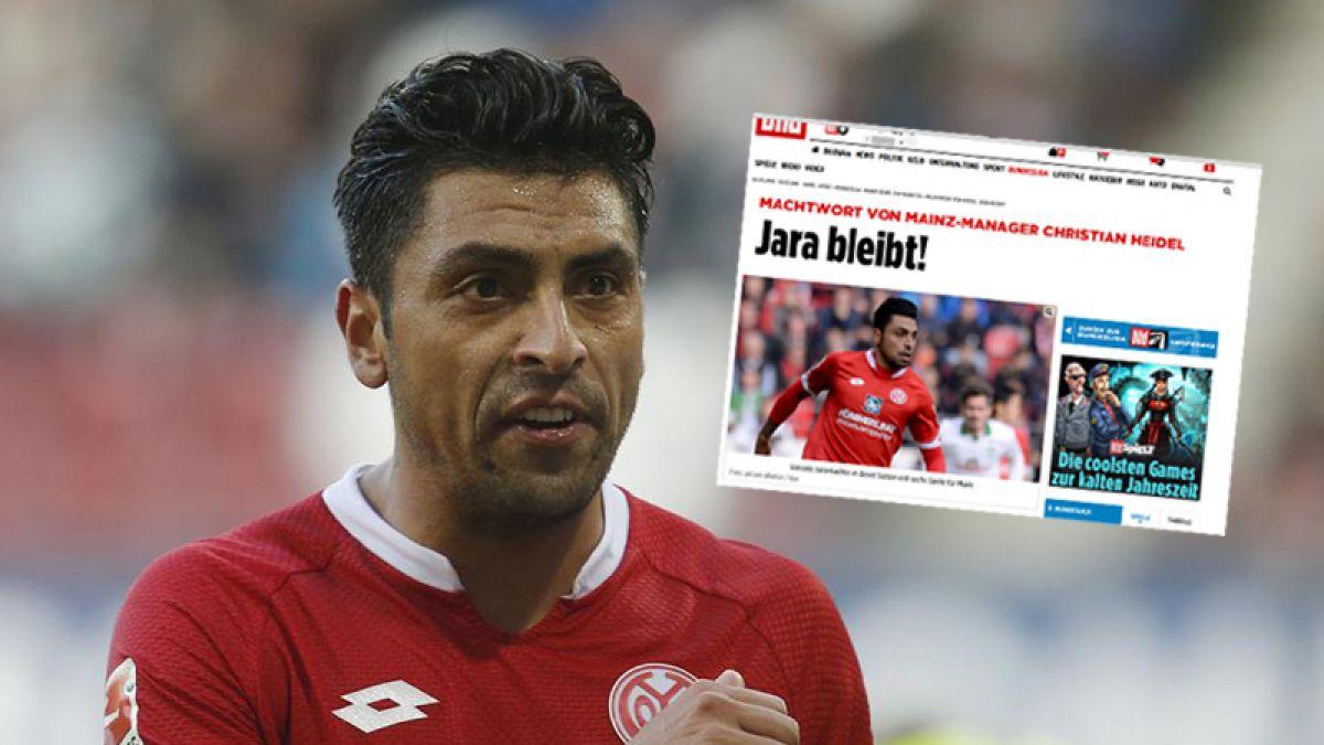 """En Alemania avisan: """"Jara, no se mueve del Mainz"""""""