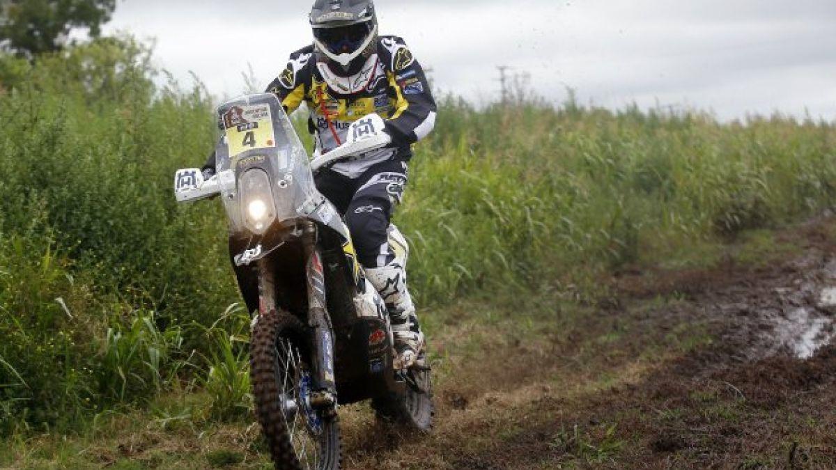 8va etapa: Quintanilla tiene gran jornada y finaliza en el tercer lugar