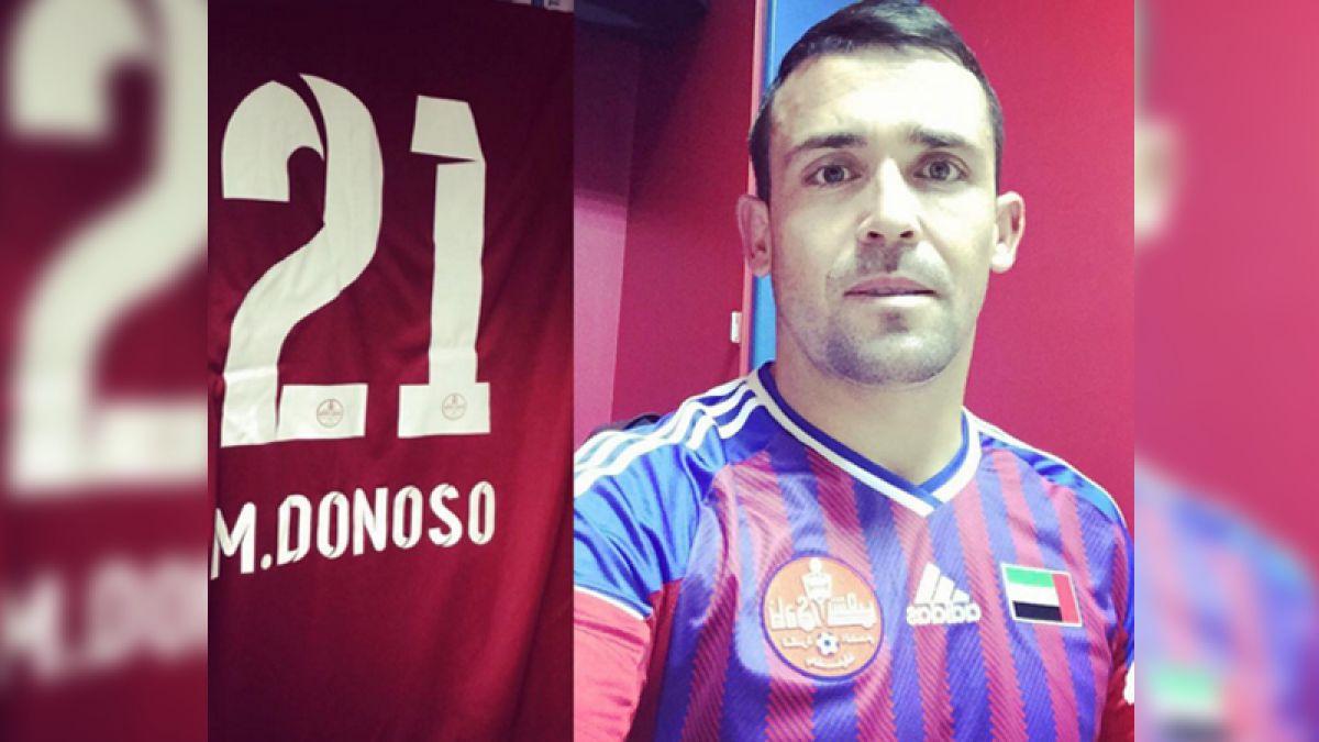 Matías Donoso descarta desvinculación con su equipo en Emiratos Árabes