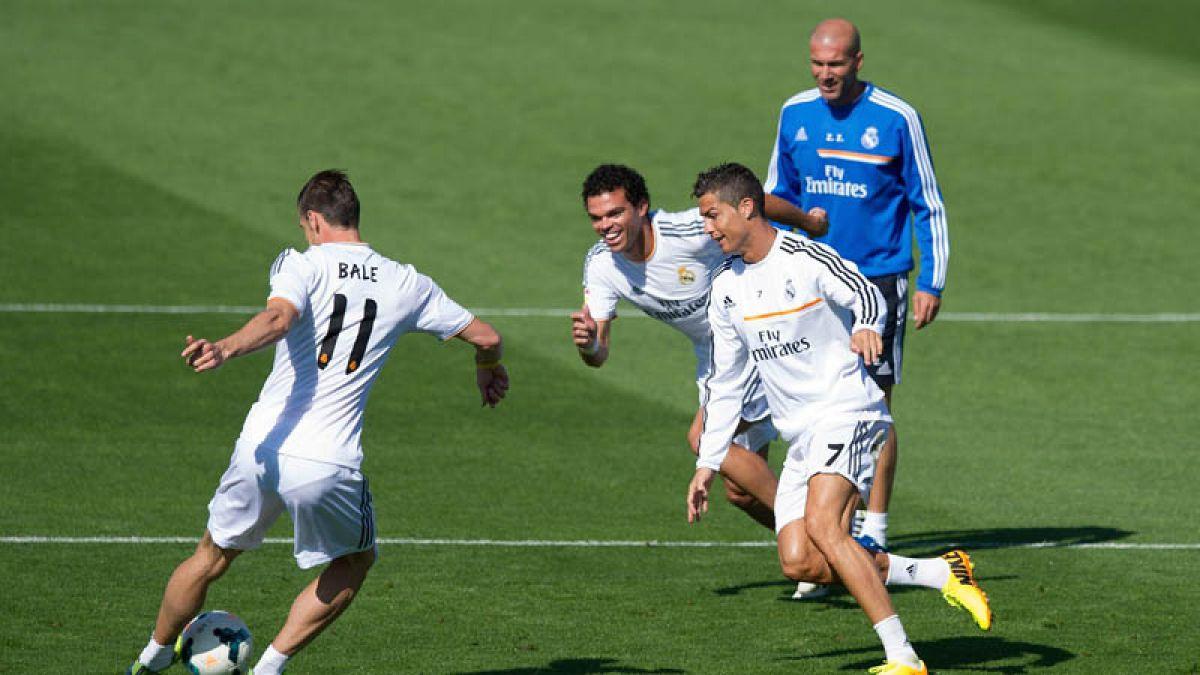 El tremendo golazo con que Cristiano Ronaldo comienza a encantar a Zinedine Zidane