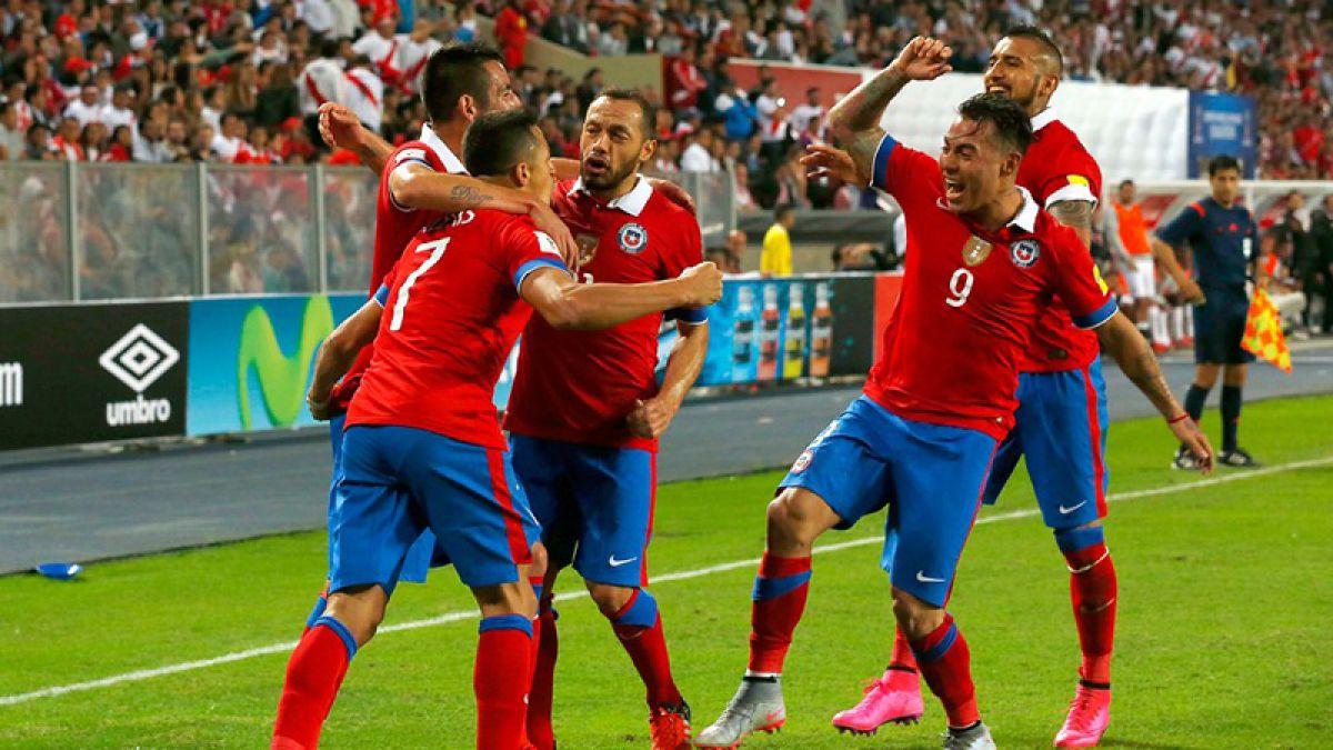 La Selección Chilena arranca el 2016 en el Top 5 del ránking FIFA