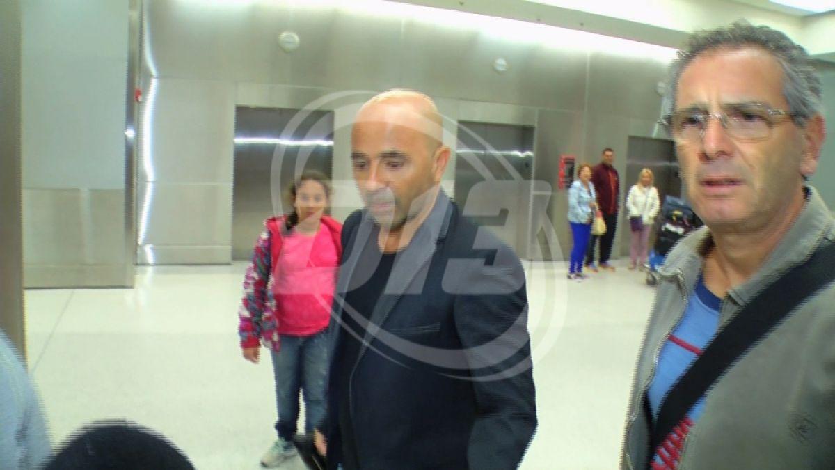 [VIDEO] Estas son las primeras imágenes de Jorge Sampaoli en Miami