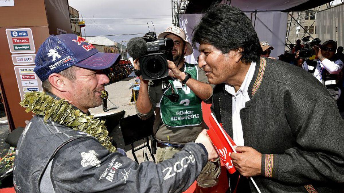 Loeb y Peugeot no dejan de sorprender en el Rally Dakar