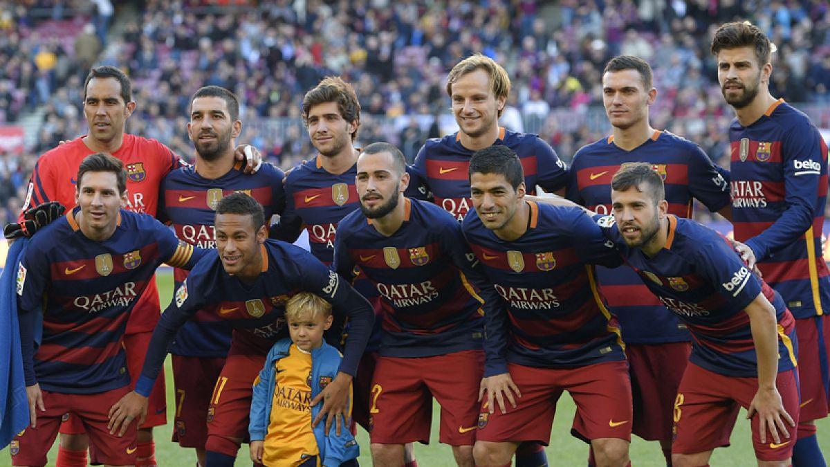Barcelona golea en otro partido donde Claudio Bravo no recibe goles