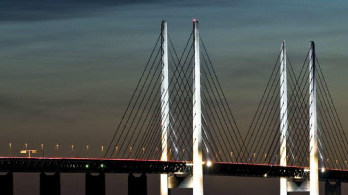 El puente escandinavo protagonista y los refugiados en ...
