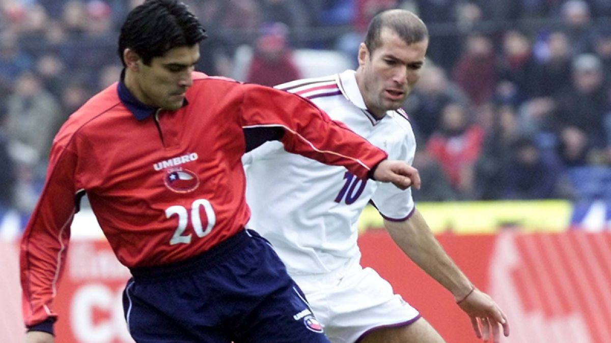 [VIDEO] El día en que Zinedine Zidane visitó Chile