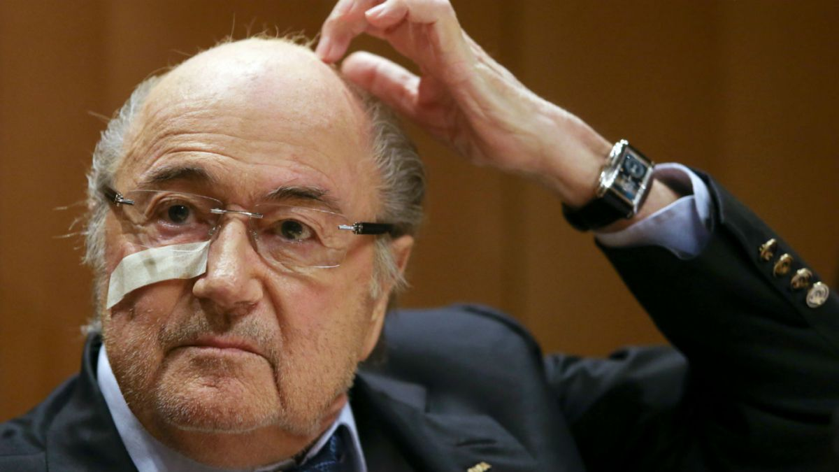 Joseph Blatter apelará a suspensión de ocho años impuesta por la FIFA