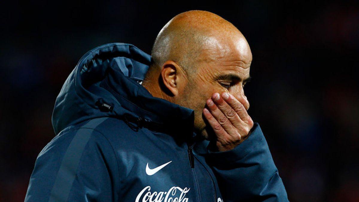 """Sampaoli asume que partirá de la Roja: """"No tenemos la energía para continuar"""""""
