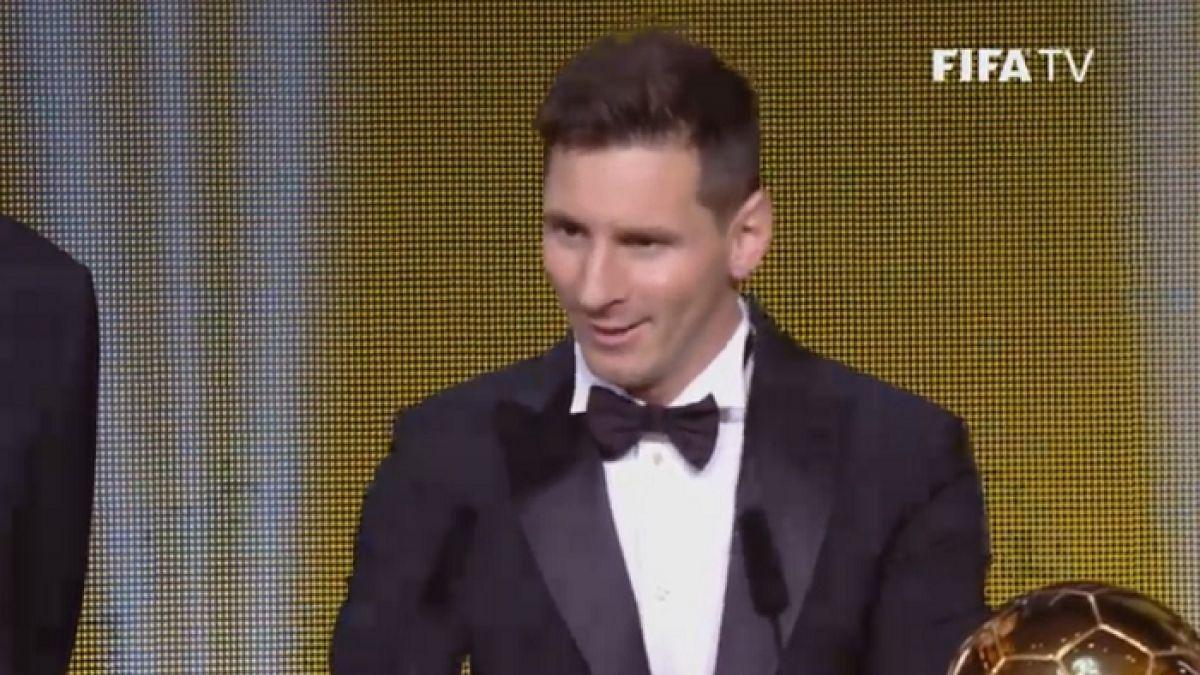 [EN VIVO] Lionel Messi se queda con su quinto Balón de Oro de la FIFA