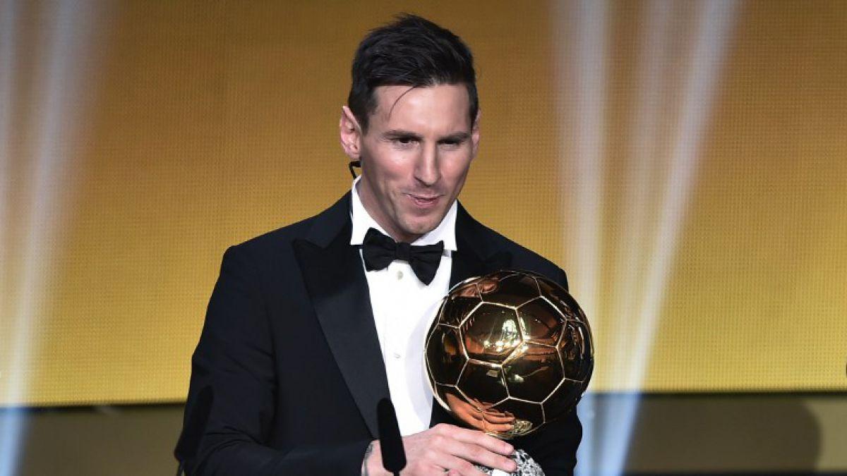 """Lionel Messi se corona como el """"Mejor jugador 2015"""" y suma su quinto Balón de Oro"""