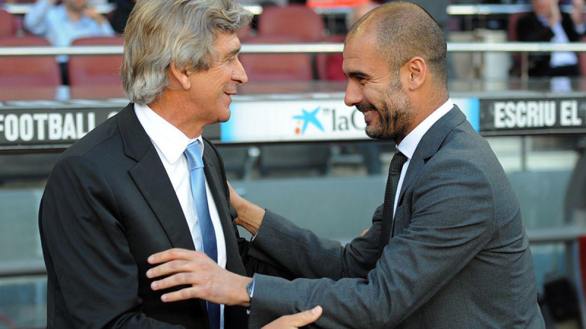 Guardiola se disculpa con Pellegrini y con todos los técnicos de la Premier League