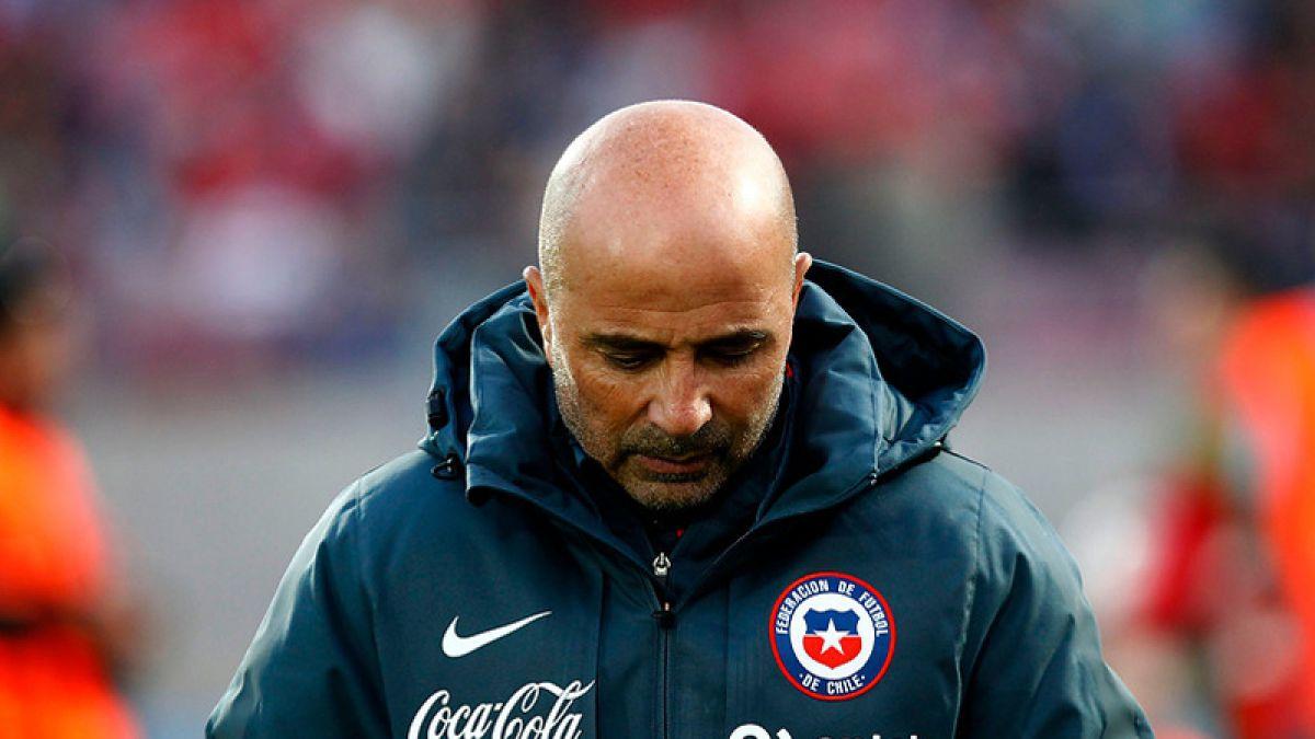 Fin de un ciclo: Jorge Sampaoli anunciará su renuncia a la Selección chilena