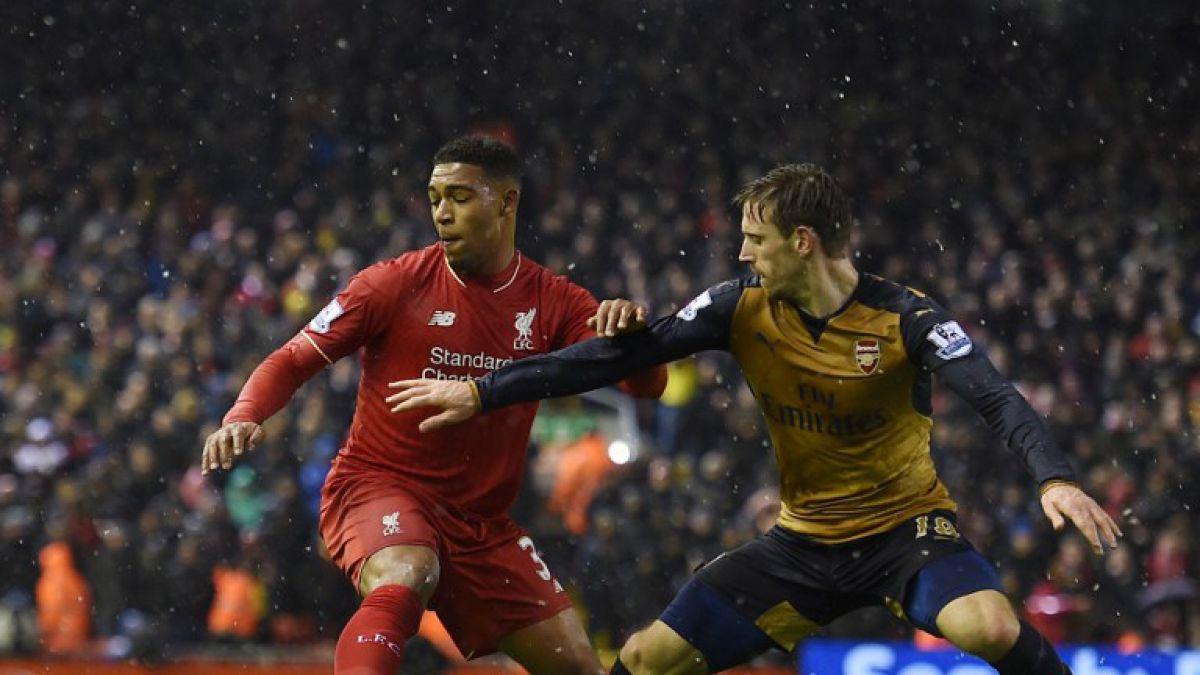 Arsenal sin Alexis Sánchez empata con el Liverpool y ahora comparte el liderato