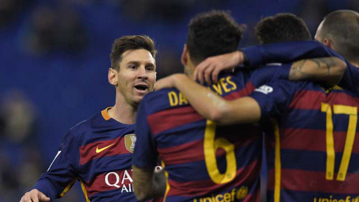 FC Barcelona de Claudio Bravo avanza a los cuartos de final de la Copa del Rey