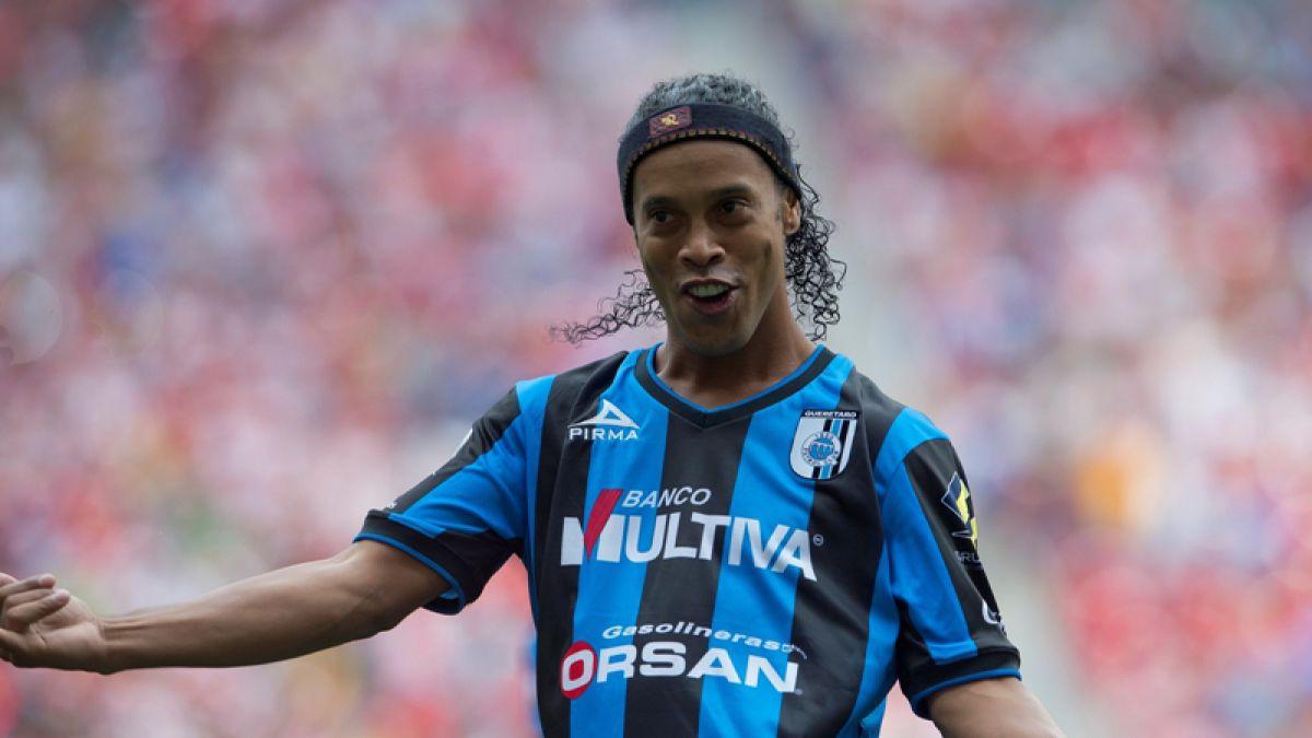 La notable forma en que Ronaldinho festeja sus 10 millones de seguidores en Instagram