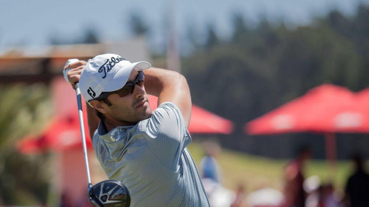 Golfista Benjamín Alvarado logra la mejor vuelta del día en el abierto de Marbella