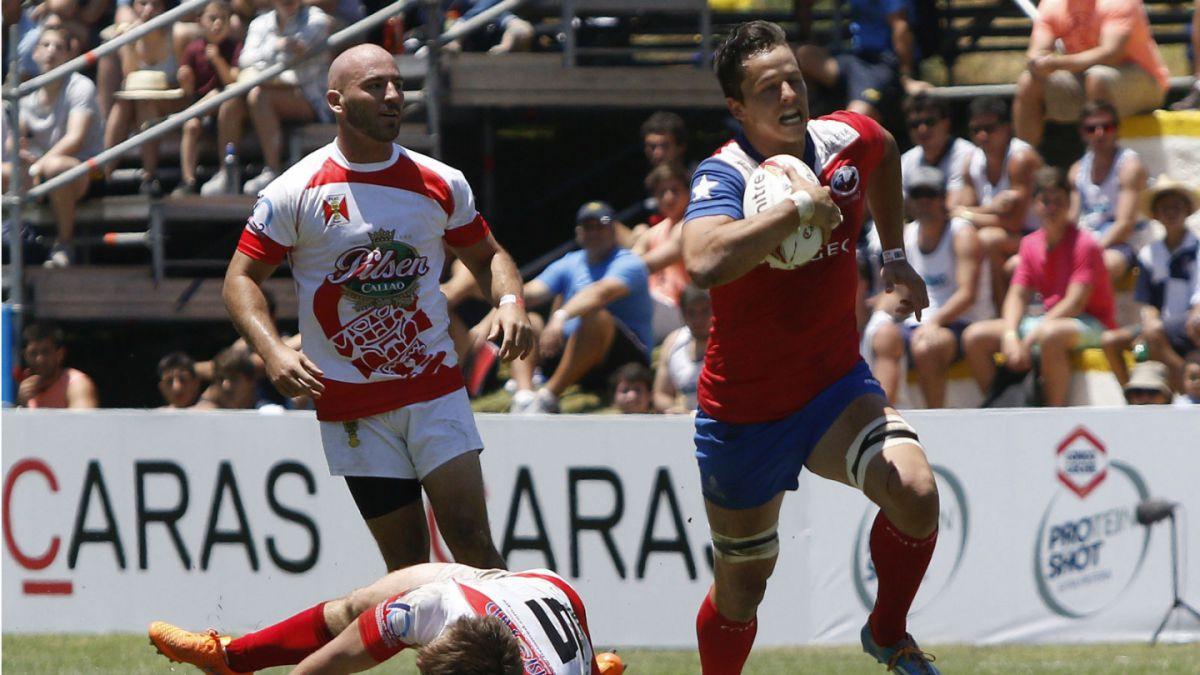 Chile gana tres partidos consecutivos y clasifica al World Sevens Series de Rugby