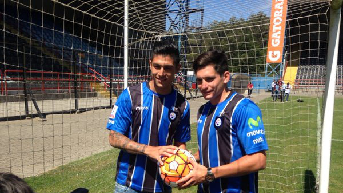 Huachipato presenta oficialmente a Valber Huerta y Alfonso Parot
