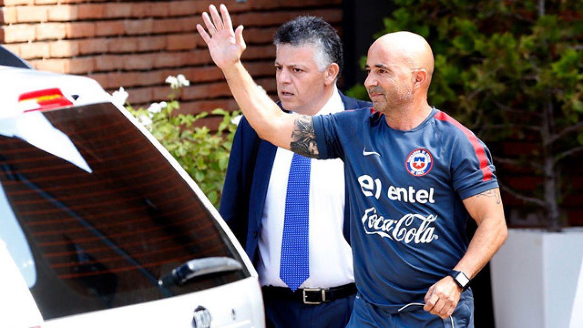 Jorge Sampaoli logra acuerdo con la ANFP para dejar la selección chilena