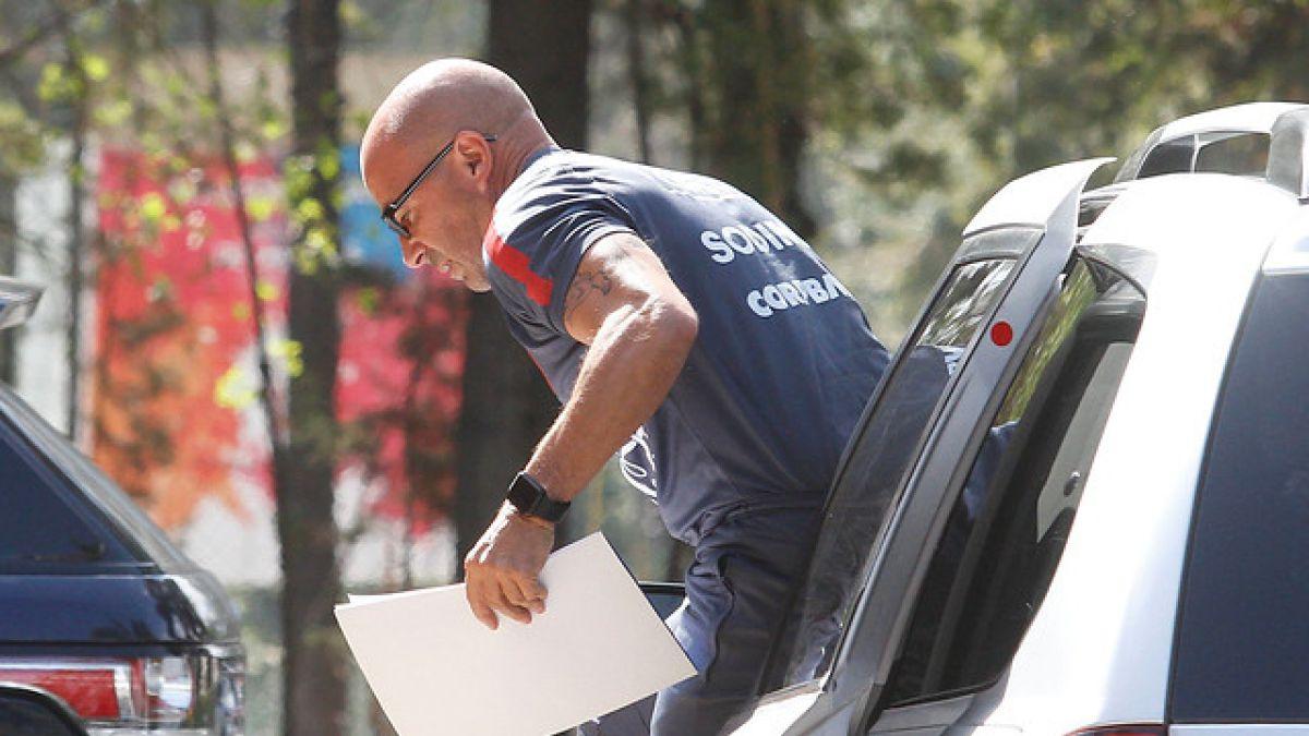 """Los detalles del acuerdo de la ANFP con Sampaoli para zanjar su adiós de """"La Roja"""""""