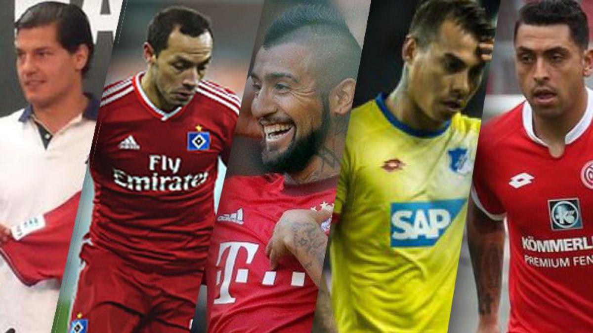 """Bundesliga: la gran """"decepción chilena"""""""